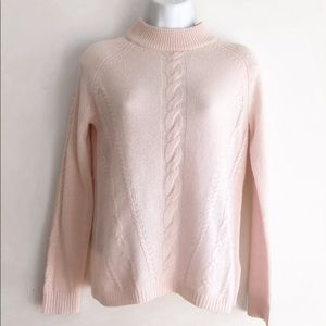 Nanette Lepore Sweaters - Nanette Lepore Cashmere Sweater XS Pastel Pink